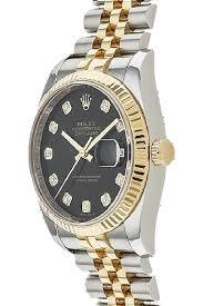 rolex datejust 116233 18k ss original diamond men s watch 47 rolex rolex datejust 116233 18k ss original diamond men s watch