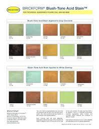 Kemiko Color Chart 16 Methodical Kemiko Stain Color Chart