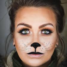 easy cat makeup ideas for