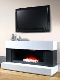 noir electric fireplace comfy for 4