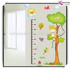 Kids Height Chart Removable Pvc Kids Cartoon Height Growth Chart Wall Sticker Buy Height Measurement Wall Stickers Kids Height Growth Chart Wall Sticker Kids Height