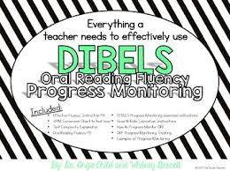 Dibels Conversion Chart Oral Reading Fluency Progress Monitoring By The Simple