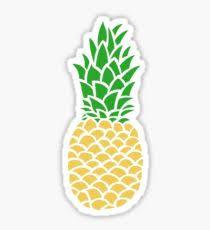 pineapple drawing. pineapple tumblr sticker drawing o