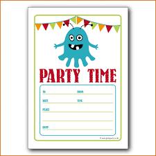Boy Invitation Templates Demireagdiffusion Childrens Birthday Party
