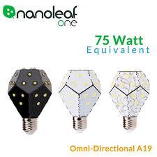 nanoleaf one 10 watt 75 watt equivalent omni directional led bulb