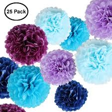 Tissue Paper Pom Poms Flower Balls Paper Flowers Fluffy Tissue Paper Pom Poms Hanging Flower