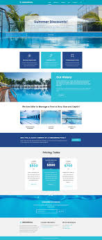 Pool Maintenance Wordpress Theme