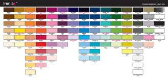 Ironlak Colour Chart Pdf