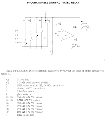 programmable light activated relay