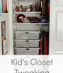 kids closet tweaking