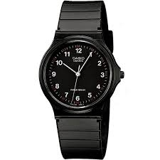 casio collection timepieces products casio mq 24 1bllgf