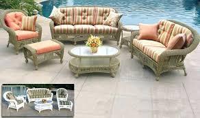 outdoor wicker furniture cushions patio wicker