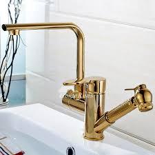 gold kitchen faucet. Gold Kitchen Faucet E