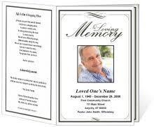 17 Best Memorial Programs Images Funeral Program Template Free