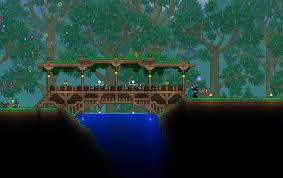Wooden Bridge Game Terrariawooden bridge by dontshitonthecountry Terraria and 46