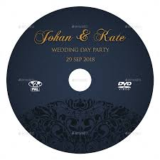 wedding dvd cover and dvd label template vol 7