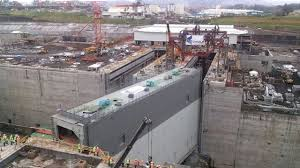 gupc weak steel reinforcement caused canal leak world gate installation kicks off at canal