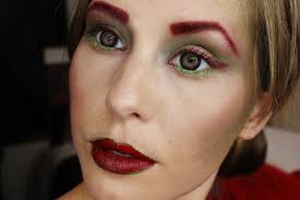 poison ivy makeup poison ivy makeup tutorial