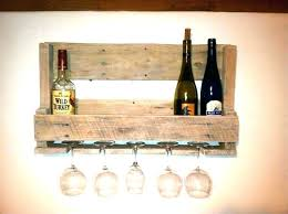 wall mount wine rack with glass holder wine glass holder wine racks wooden wine racks do
