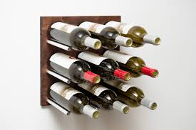 c style cork forward wine wall panel with dark walnut wood 9 vino pins rails