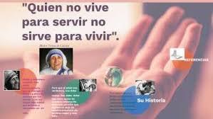 """Quien no vive para servir no sirve para vivir"""" by Luz Adriana Rojas Quiroga"""