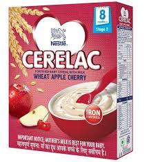 Nestle Cerelac Stage 2 Wheat Apple Cherry 300gm