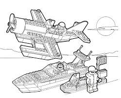 Small Picture Airplane Lego Coloring Pages Free Printable Coloring Pages For