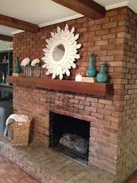 fixer upper brick fireplace decorred brick fireplaceswood mantlemagnolia