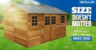 you ll love our biggest sheds stilla