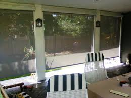 image of outdoor bamboo shades blinds