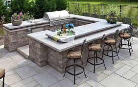 best outdoor kitchen countertops options