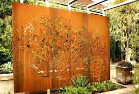 metal garden wall art large garden wall art iron artwork outdoor mesmerizing beautiful metal garden wall metal garden wall art