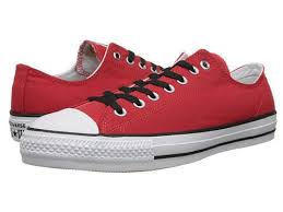converse shoes black and red. converse ctas pro ox red/white/black - 6pm.com shoes black and red