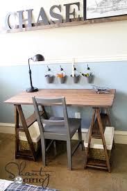 restoration hardware diy desk
