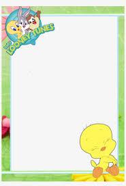 marcos cuadrados para fotos infantiles baby looney tunes