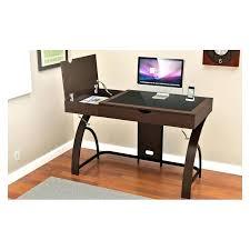 zline computer desk glass computer