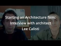 Starting an Architecture firm: Interview with architect Lee Calisti