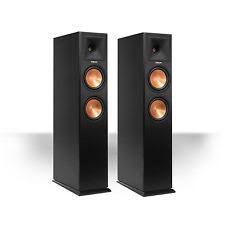 klipsch used speakers. klipsch rp-280fa reference premiere speakers - open box \u003d 2 speakers cherry used l