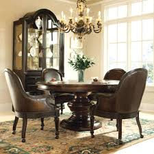 dining room captain chairs sets with upholstered captains table