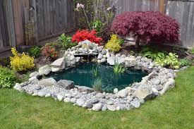 40 Backyard Pond Ideas Designs Pictures Simple Pond Garden Design