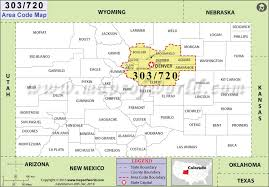 58 Correct 719 Area Code Time Zone Map