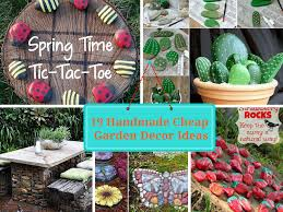 Small Picture 19 Handmade Cheap Garden Decor Ideas To Upgrade Garden