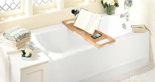 bathtub book holder teak bathtub tray reading wine book holder plus bathtub book holder image result for wood