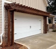 pergola over garage an excellent option