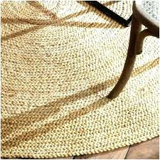 oval jute rug uk 8 round rugs foot photo 5 of 9 natural fiber braided reversible