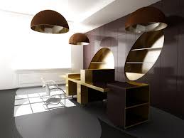 wood office cabinets. Creative Design Modern Office Furniture Set With Solid Wood Table White Steel Chairs Brown Wall Round Chandelier Cabinets