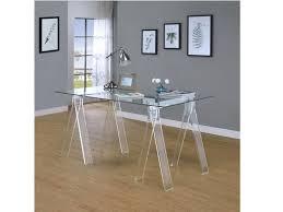 Image Black Acrylic Writing Desk Muuduu Furniture Acrylic Writing Desk Shop For Affordable Home Furniture Decor