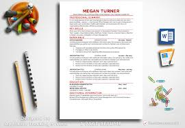 Resume Template Megan Turner Bestresumes