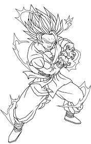 Super Saiyan Coloring Pages Coloring Pages Masks Coloring Pages 3