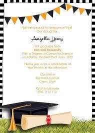 Free Template For Graduation Invitation Free Graduation Party Invitation Graduation Pinterest